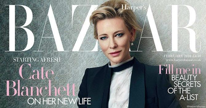 Get The Cover: Work The Elegant-Everyday Look With Cate Blanchett