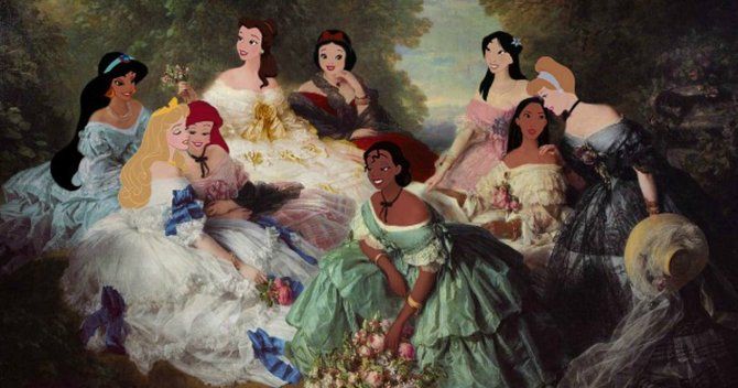 If Disney Princesses Carried Handbags...