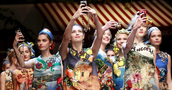 MFW Closeup: Best Of Beauty At Dolce & Gabbana