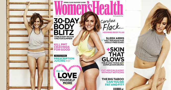 Get The Cover: How to #TANTOUR like Caroline Flack on Women's Health