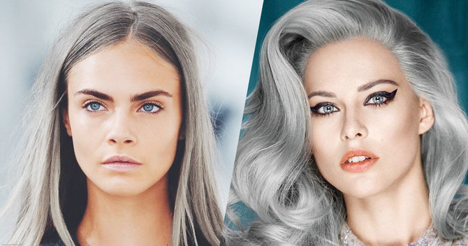 Your Grey Hairs Are Trending
