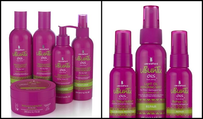 New Hair Care Oils From Lee Stafford: uBunTu Oils from Africa