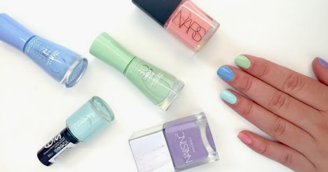 Tried & Tested: We Put 5 New Pastel Nail Colours Through Their Paces...