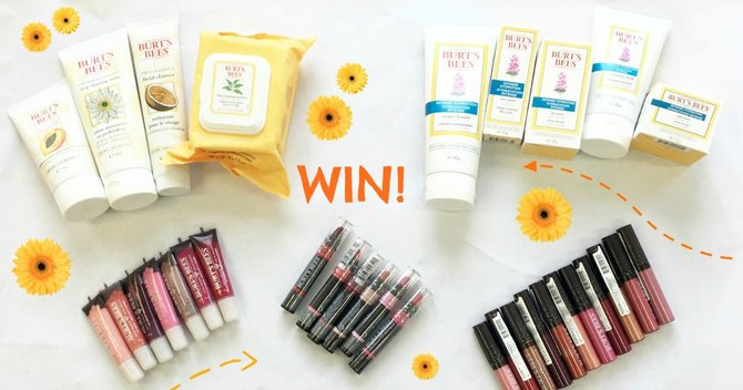 Win £500 worth of beauty products with our Brand of The Month: Burt's Bees!