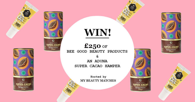 WIN A BODY BOOSTING BEE GOOD AND ADUNA HAMPER WORTH £250