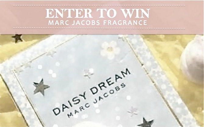 Win a Marc Jacobs Fragrance!