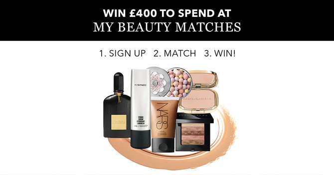 WIN! £400 To Spend At My Beauty Matches