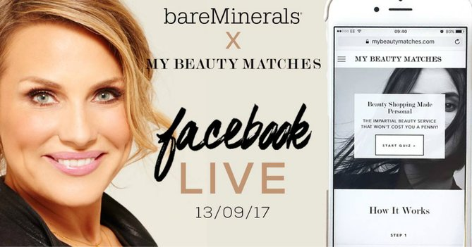 WIN A Personalised Bare Minerals Makeup Look For You And A Friend