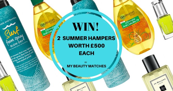 WIN 2 PERSONALISED Beauty Hampers For Summer Worth £500 each! One For You And A Friend.