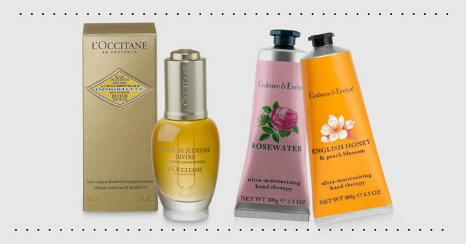 Wonderful Giveaway: Win Crabtree & Evelyn and L'Occitane Products!