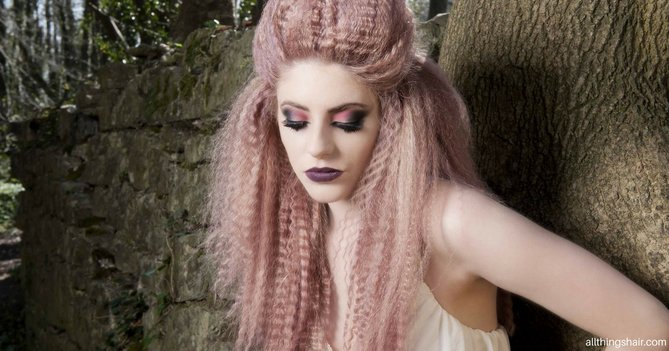 9 Steps To Creating High Octane Hair This Halloween