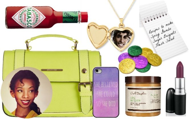 What's in Tiana's bag