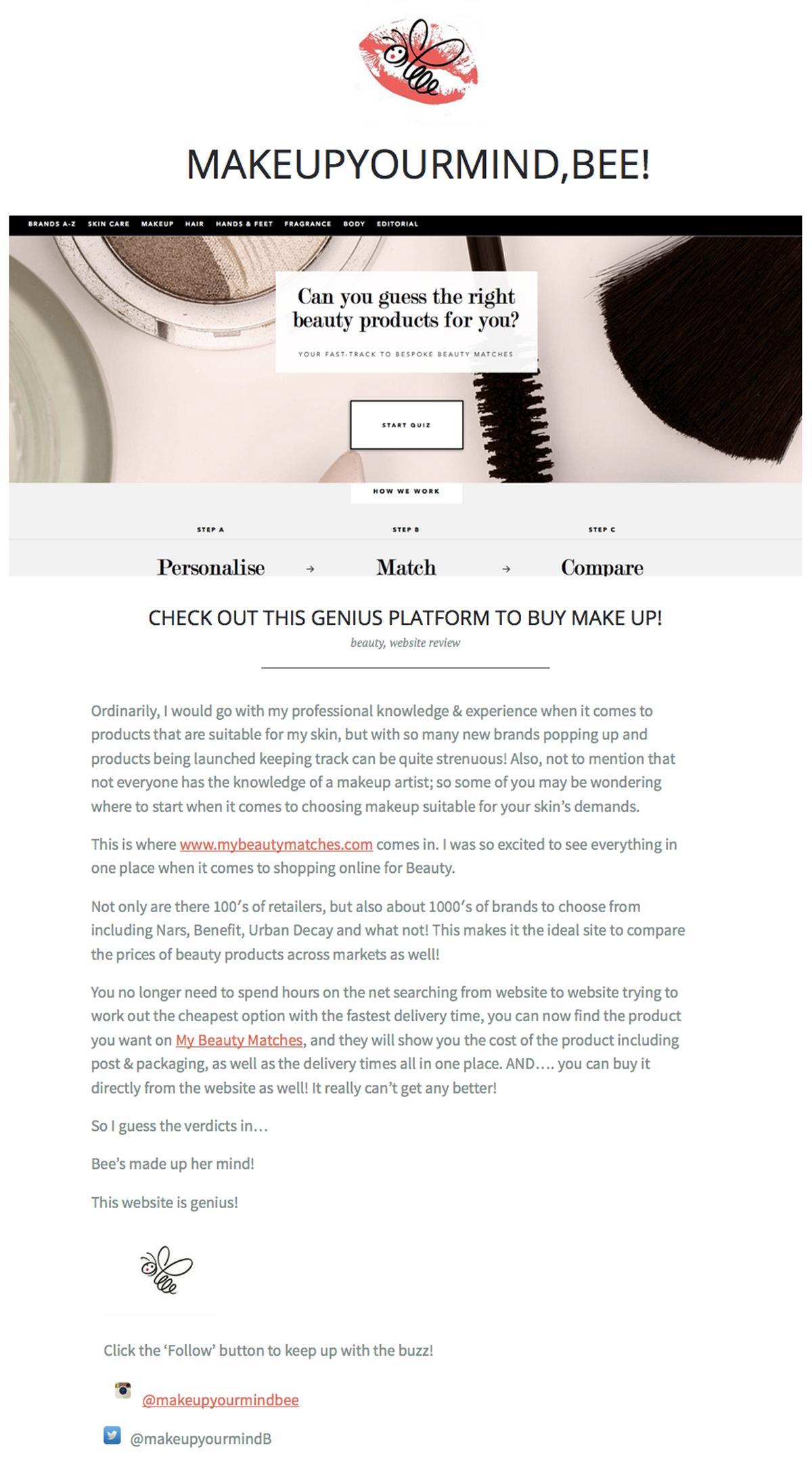 Check out this genius platform to buy make up! Clipping