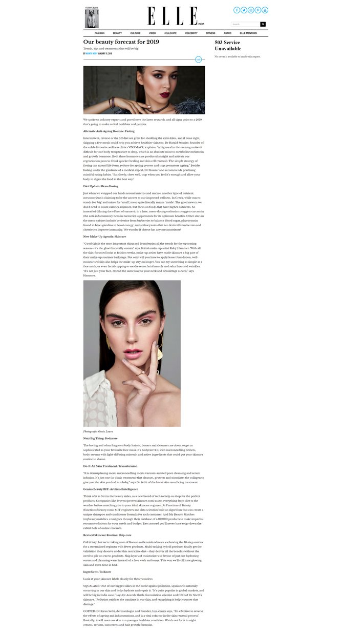 Elle India Clipping